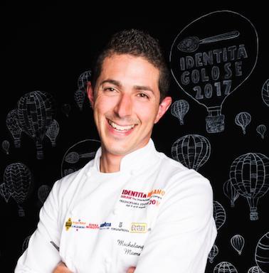 Michelangelo Mammoliti, chef del ristorante La Madernassa di Guarene (Cuneo), premiato daAcqua Panna - S.Pellegrino
