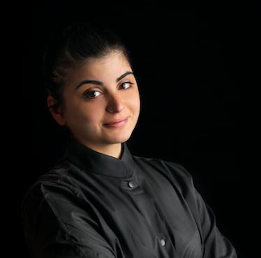 Solaika Marrocco, chef del ristorante Primo di Lecce,premiata da Pasqua