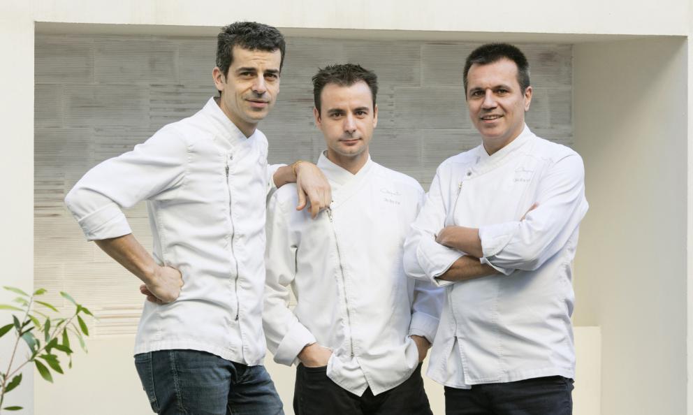 Mateu Casañas, Eduard Xatruch e Oriol Castro, Disfrutar a Barcellona, è il Miglior Chef Straniero 2018. Il premio è presentato da Lavazza