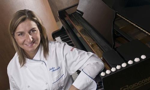 Nadia Moscardi, chef at Elodia in Camarda, at the