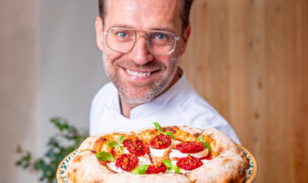 La pizza di Renato Bosco? A Milano, all'ombra della Madonnina