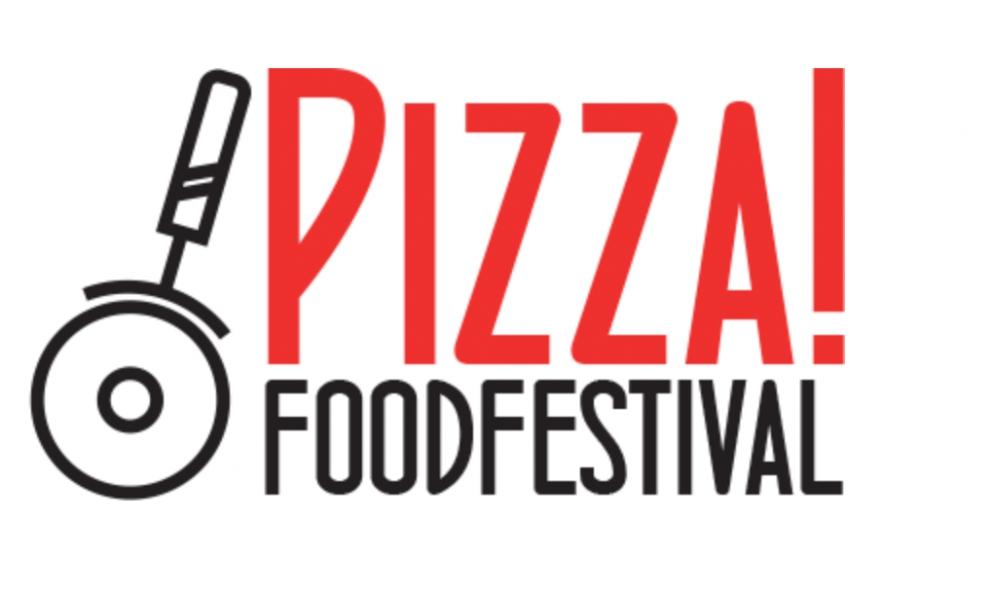 Il logo del neonato Pizza! Food Festival, che si terrà il prossimo 30 settembre a Sortino, in provincia di Siracusa. E' organizzato dall'ideatore di Fuoco! Food Festival, che tornerà l'anno prossimo con un nuovo programma
