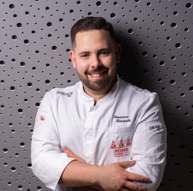 Francesco Pompetti, chef del ristorante Impastatori Pompetti di Roseto degli Abruzzi (Teramo), premiatodaBirra del Borgo