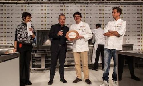 Premio Birra in Cucina a Fabio Barbaglini dell'Ant