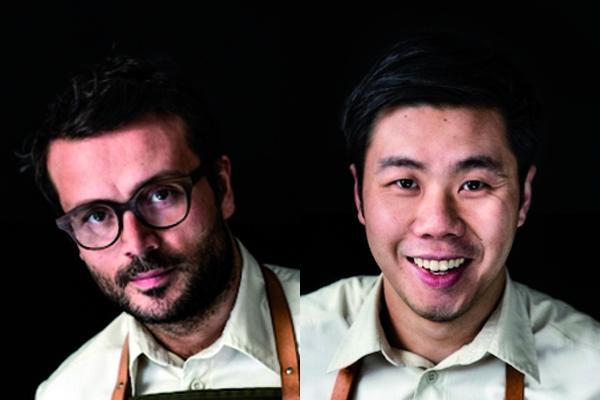 Christian Puglisi (34 anni) e Jonathan Tam (30), chef-patron e head chef del ristoranteRelædi Copenhagen, in Danimarca, una stella Michelin. Lavorano assieme da quasi 10 anni. Terrannolezione domenica 5 marzo all'Auditorium diIdentità Milano, ore 14.15
