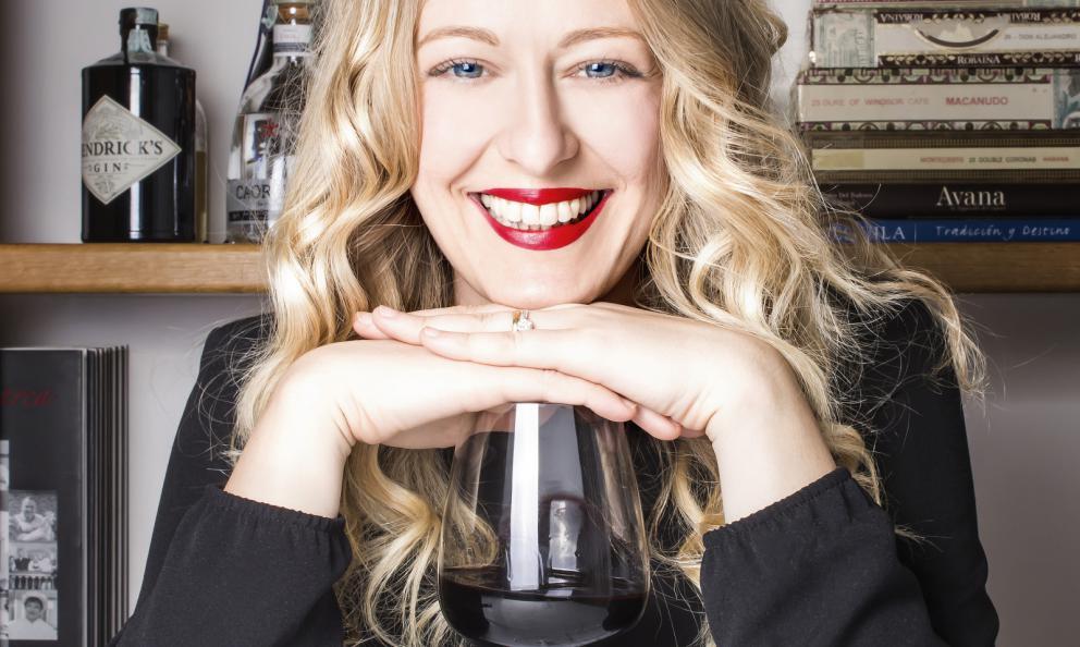 Ramona Ragaini, Andreina, Ancona, premiata da Carlo Boschi, Responsabile Veuve Clicquot Italia