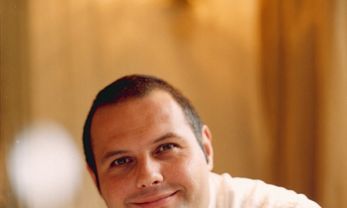 "One of the first chefs to be ""represented"" by the agency: Roberto Cerea"