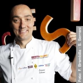 Vegan chef Simone Salvini