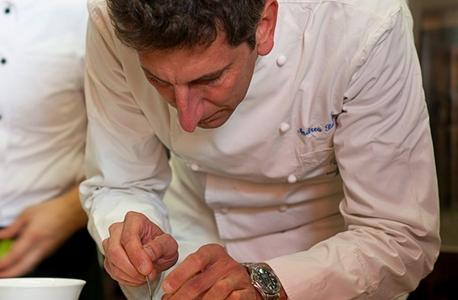 Andrea Sarri: chef del ristorante Agrodolce di Imperia e presidente di Jre Italia, è tra i più attivi in regione