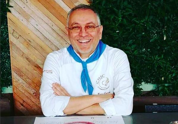 Enzo Coccia, patron de La Notizia a Napoli, raggiante a Los Angeles. Il contenuto dell'articolo che segue sintetizza i punti salienti dell'intervento tenuto aSeeds & Chips il 7 maggio scorso