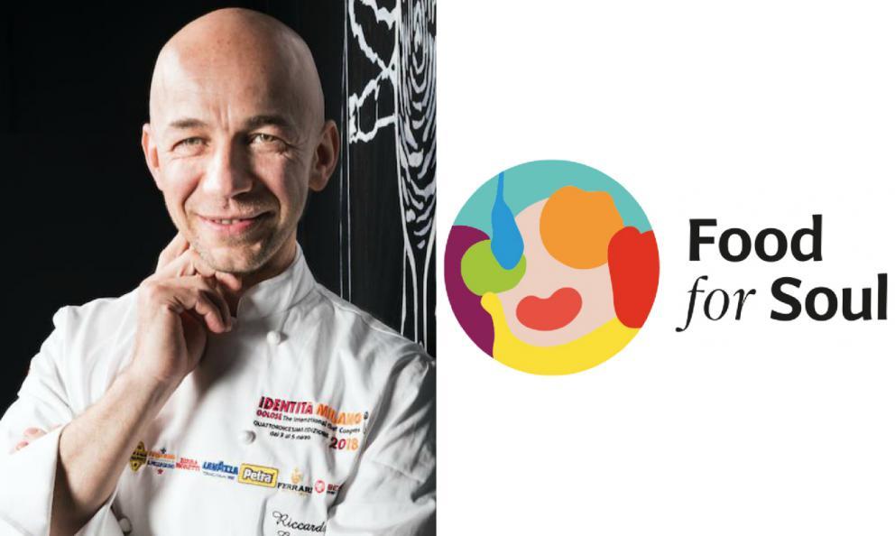 Riccardo Camanini e Food for Soul, un premio a due eccellenze tricolori