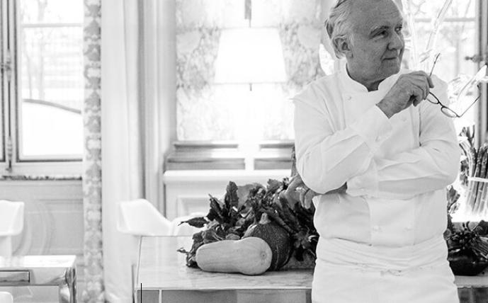Alain Ducasse, 62. At Identità Milano on Sunday 24th March we'll pay a tribute to him (photo ducasse-paris.com)