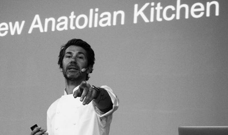 Turkish chefMehmet Gürsin a photo from a couple of years ago, when he presented theNew Anatolian Cuisine