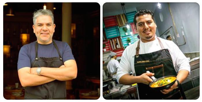 Josè del Castillo, chef di Isolinae Fransua Robles Cerna,La Picante, entrambi ristoranti di Lima. Firmano 3 cene a Identità Golose Milano, alla viglia del congresso, 20-22 marzo. Menu a 75 euro vini inclusi. Per prenotazioni,clicca qui