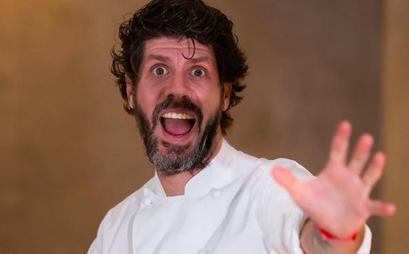 Paulo Airaudo, italo-argentino, 34 anni. E' chef di Amelia a San Sebastian nei Paesi Baschi e di Da Torre a Londra, entrambi con una stella Michelin(foto Instagram/restaurantamelia)
