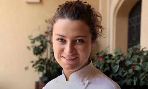 Serena D'Alesio, chef and pastry chef born in 1982