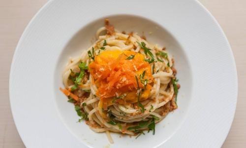 Spaghetti with carrots byConsiglio di Siciliain Donnalucata (Ragusa), tel. +39.340.9448923