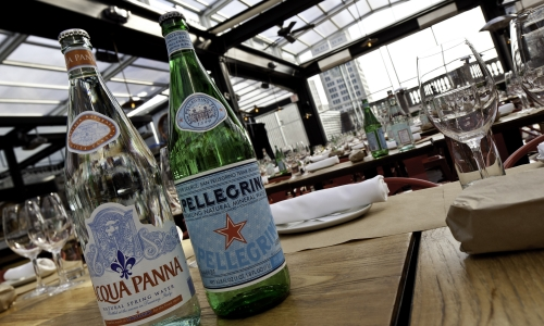 Acqua Panna e S.Pellegrino a New York