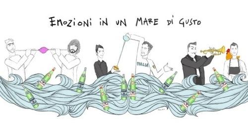 Nell'illustrazione di Gianluca Biscalchin le coppi