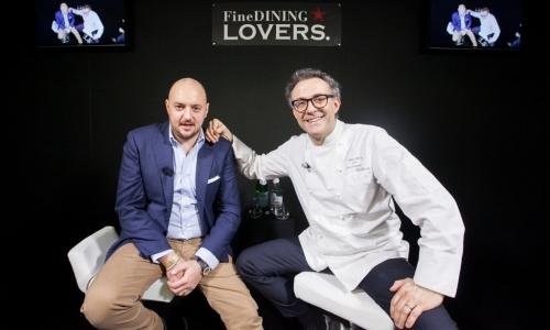 Giuseppe Palmieri e Massimo Bottura. Foto di Sonia