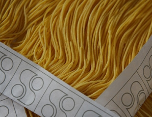 Vincenzo Spinosi 's Spinosini pasta in Pedaso, often cooked byCedroni at theClandestino