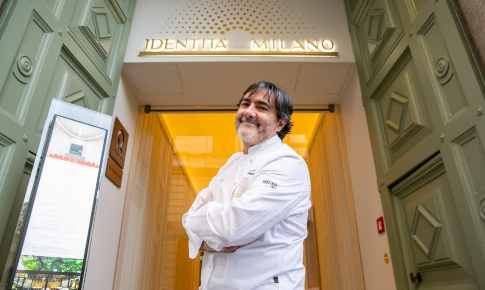 Stefano Masanti a Identità Golose Milano. Lo chef è protagonista di quattro cene, fino a sabato 25: per altre info e soprattutto per prenotare, clicca qui. Le foto sono di Sonia Santagostino - OnStage Studio