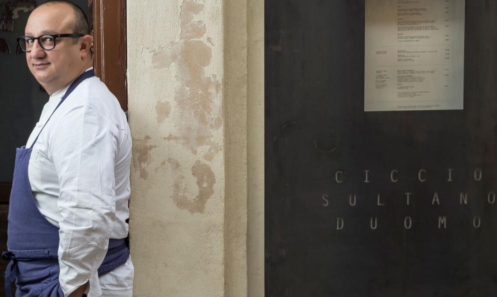 Ciccio Sultano, chef del ristorante Duomo, due stelle Michelin