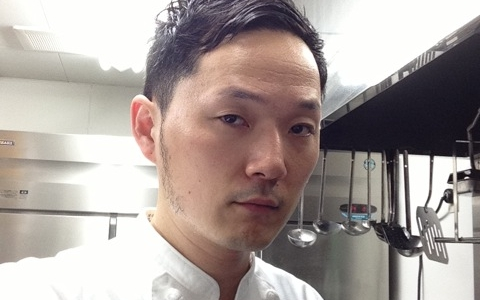 Isamu Hirayama, the chef at restaurant Daining in