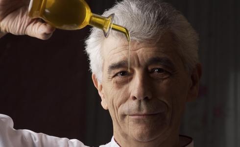 Paolo Teverini, chef dell'omonimo ristorante di Ba