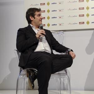 """Federico Graziani, con Marco Pozzali autore di """"Grandi Vini d'Italia"""" (Gribaudo)"""