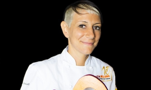 Roberta Pezzella, pastry-chef at Heinz Beck's La