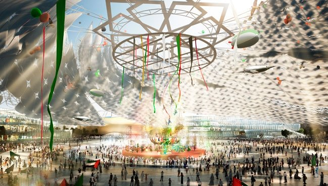 Now the Milanese edition has ended, we return on the rendering images of the future Expo: the World Fair in Dubai (20th October 2020-10th April 2021) aims for a total of 25 million visitors, an exhibition area of 438 hectares, a total daily capacity of 300K people and a daily flow of 153K visitors. Before that, we'll have Expo 2017 in Astana, a sort of mid-term fair to occur in the capital of Kazakhstan, from 10th June till 10th September 2017