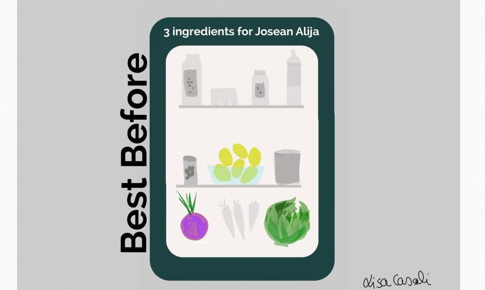 Best Before is a small challenge dedicated to all fine dining professionals. It's a way to make people think about how much we waste every day in our homes and about the simple, fun and surprising things we can make with a few ingredients close to their use-by date. Today it's the turn of the great Josean Alija from Nerua in Bilbao