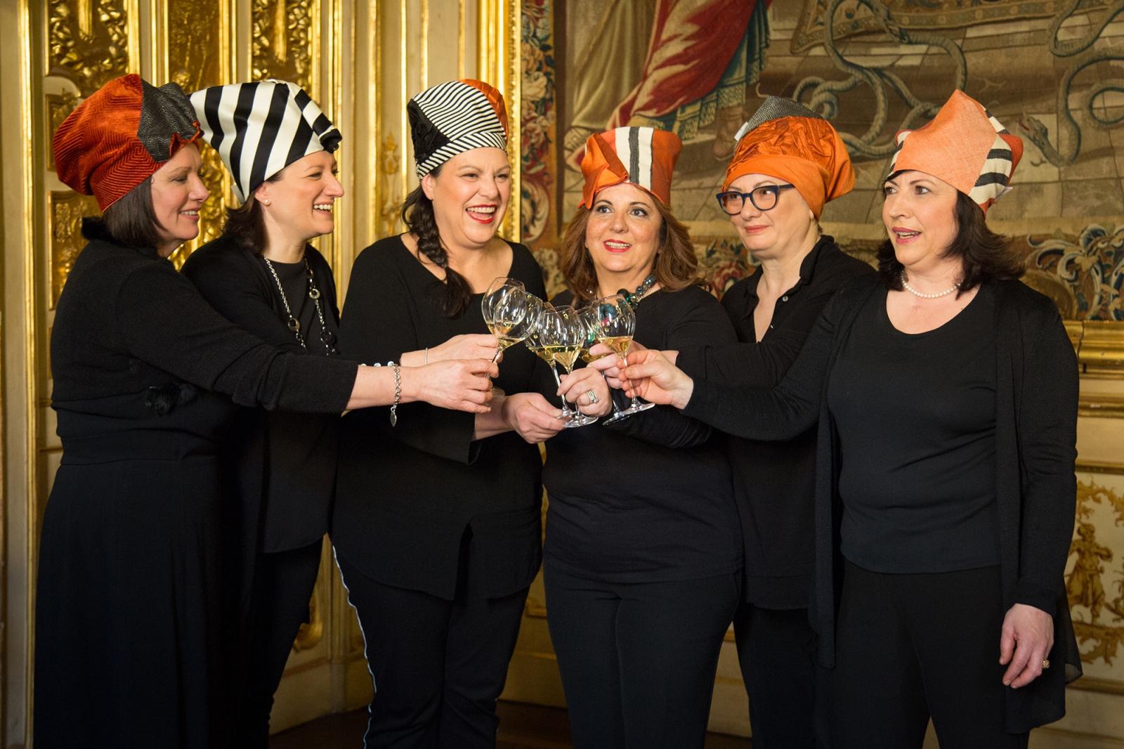Alcune chef dell'Atelier des Grandes Dames.