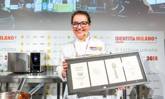 La Musumeci a Identità Milano 2018