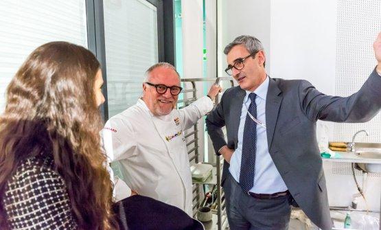 Colonna chiacchiera con Riccardo Felicetti