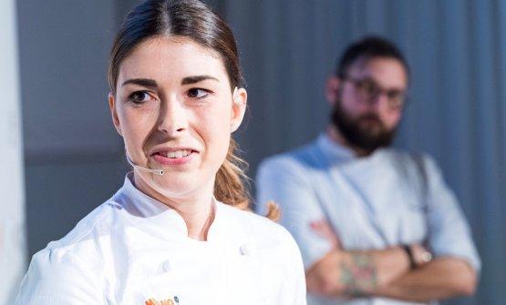 Lucia De Prai ritratta durante Identità Milano 20