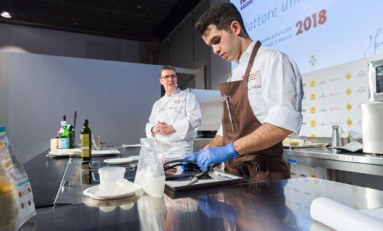Gilmozzi e il suo nuovo sous chef,MarcoGrigolato