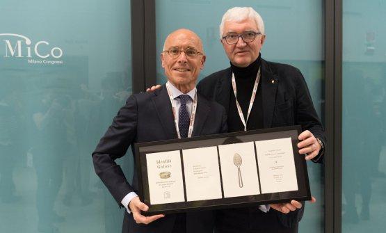 Fleury con Antonio Santini