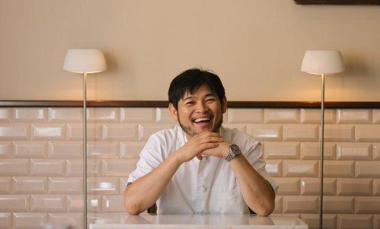 Lo chef Kotaro Noda