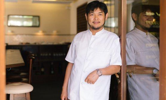 Lo chef e patronKotaro Noda