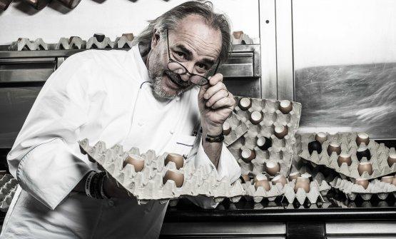 Marco Sacco, chef del Piccolo Lago