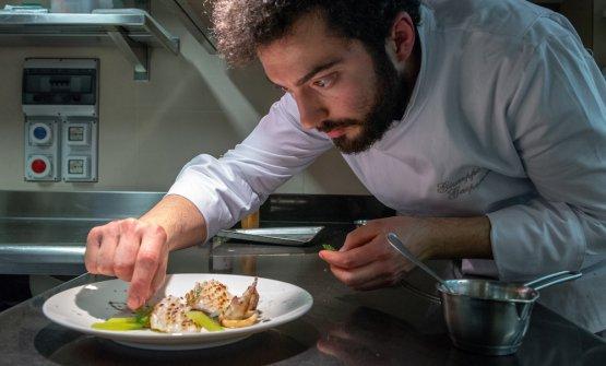 Giuseppe Gasperonida marzo è il nuovo chef alla Osteria del Povero Diavolo, al posto di Pier Giorgio Parini