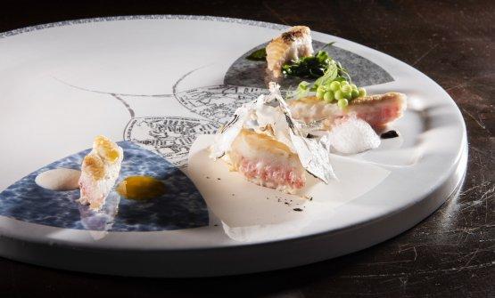 Il piatto di Gipponi, una sogliola in varie declinazioni, pensata da diversi autori