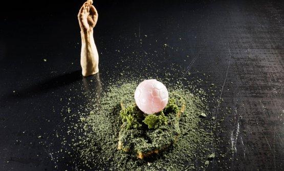 La Mano de Dios, dessert presentato daMatias Per
