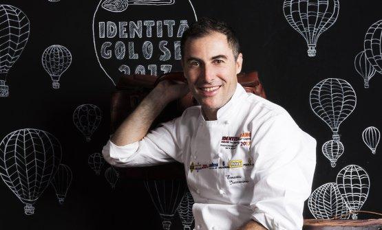 Ernesto Iaccarino, classe 1970,chef del ristoran