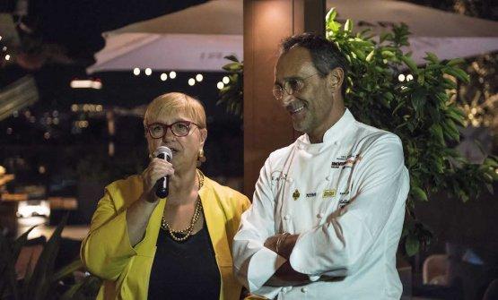 Lidia Bastianich e Ravagnan
