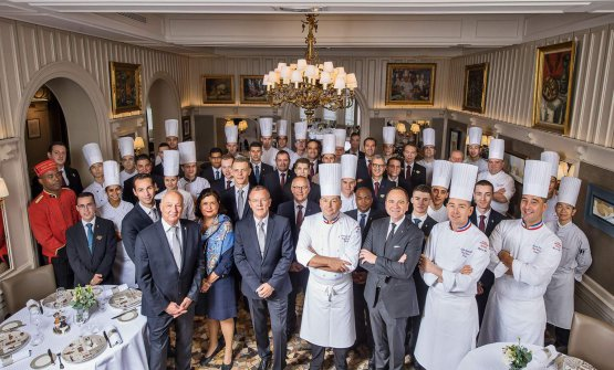 Lo staff del Paul Bocuse