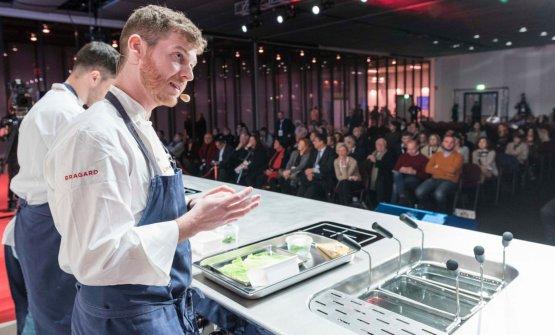 Luca Abbruzzino, 29 anni ad aprile, è lo chef del