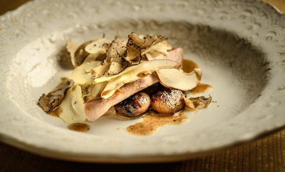 Fagiano, castagne, tartufo